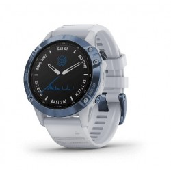 fēnix 6 Pro Solar Mineral Blue with Whitestone Band - 010-02410-41